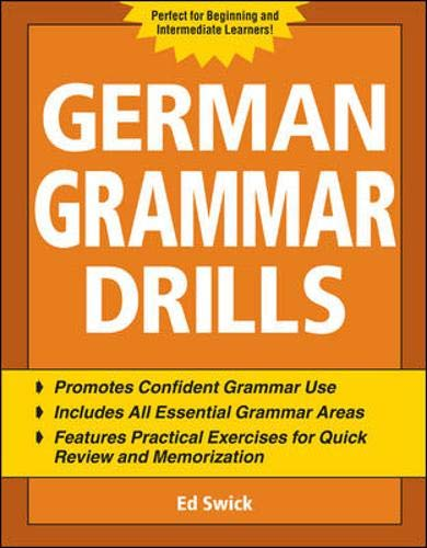 German Grammar Drills (Drills Series)