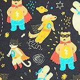 Megan Blue Tierischer Superheld, Jersey mit Bären und