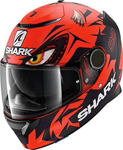 Shark Casco integral Spartan Replica Lorenzo Austrian GP rojo negro RKR mate talla M