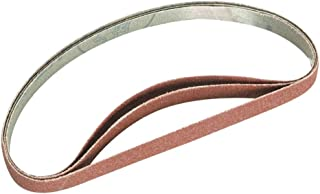 Evolution Power Tools File Sander Belts, 120 Grit, Pack of 3