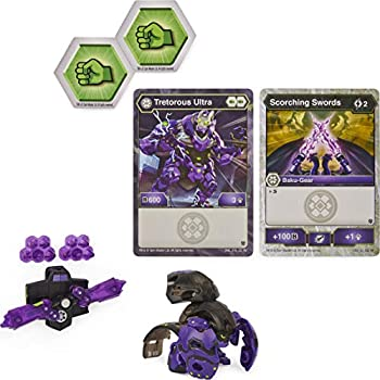 Bakugan Ultra Tretorous with Transforming Baku-Gear Armored Alliance 3-inch Tall Collectible Action Figure
