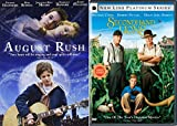 Adolescent boys 2 Pack Tales Second Hand Lions + August Rush DVD Family movies