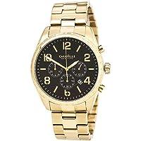 Caravelle New York Men's Quartz Stainless Steel Bracelet Watch