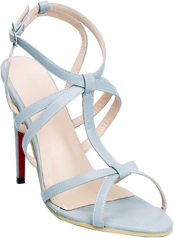 CASOCK kvinnor Handgjorda hög klack Sandaler G -Strap Cut Cut Cut -Out Bockles sommar mode Sandal skor  spara 50% -75% rabatt