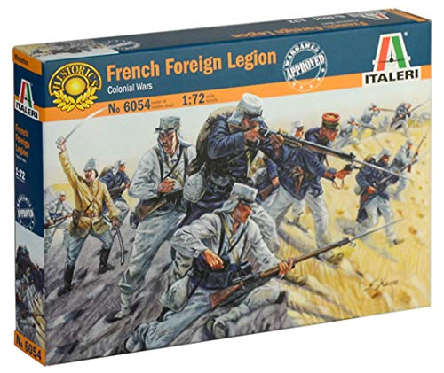 ITALERI 6054S - 1:72 French Foreign Legion , Modellbau, Bausatz, Standmodellbau, Basteln, Hobby, Kleben, Plastikbausatz, detailgetreu