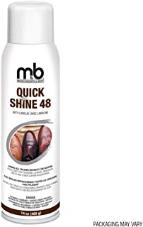 Moneysworth & Best Shoe Care Quick Shine 48, 14-Ounce