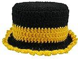 Klopapierhut 'TRABI' für die Hutablage und als Deko für's Bad, ein MUß für Nostalgiker (Klopapierhut, Schwarz/Gelb)