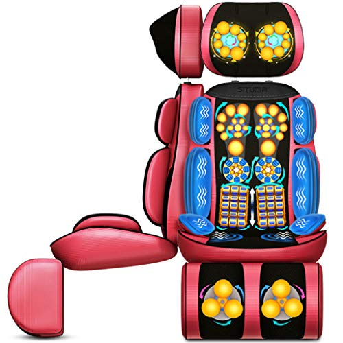Buy Bargain Electric Massagers Back Massage Chair Seat Cushion,Cervical Spine Kneading 16 Heads Knea...