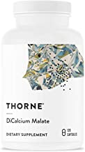 Thorne Research - DiCalcium Malate - Concentrated Calcium Supplement with DimaCal for Bone Density Support - 120 Capsules