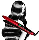Titanium Flat Iron Digital Hair Straightener by Isa...