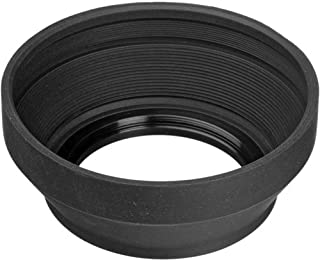 58mm Olympus 70-300mm f//4-5.6 Zuiko ED Pro Digital Lens Hood Flower Design + Nwv Direct Microfiber Cleaning Cloth.