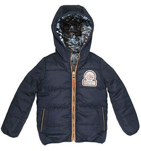 Moodstreet winterjas voor jongens, omkeerbaar, meerkleurig, camouflage