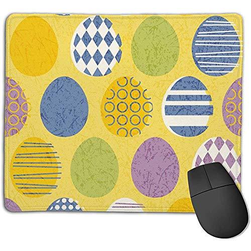 Bequeme Mauspad-Auflage, rutschfestes Mousepad in modernen Farben der Mitte des Jahrhunderts