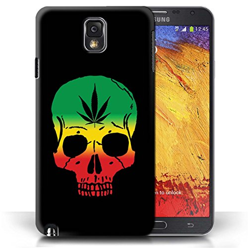 Stuff4® Phone Case/Cover/Skin/SGMN-CC/Rasta Reggae Art Collection Samsung Galaxy Note 3 Scream masker geïnspireerd kunst