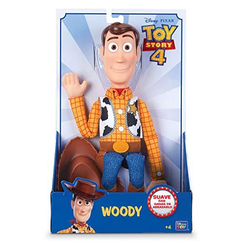 Bizak- Toy Story Figura Woody El Sheriff Suave, 40 cm (61234111)