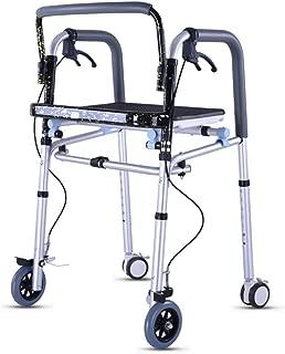 Andador Plegable Walker, con Las Ruedas Andador Discapacitados ...