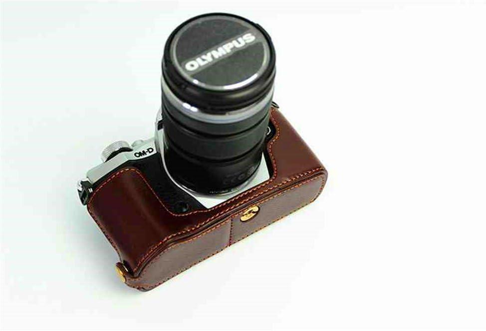 E-M5 Mark II Case BolinUS Handmade Ranking TOP10 Real Half Genuine Leather Ca Excellence