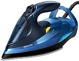 Philips Azur Advanced GC4932/20 - Plancha Ropa Vapor sin Ajustes de Temperatura, 2600 W, Golpe Vapor 210 g, Vapor Continuo 50 g, Modo Eco, Autoapagado, Azul
