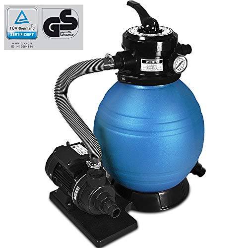 Deuba Sandfilter Sandfilteranlage 10 m³/h - Poolfilter Filteranlage Filterkessel