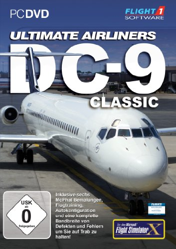 Flight Simulator X - FSX Ulitmate Airline DC - 9 (Add - On) - [PC]