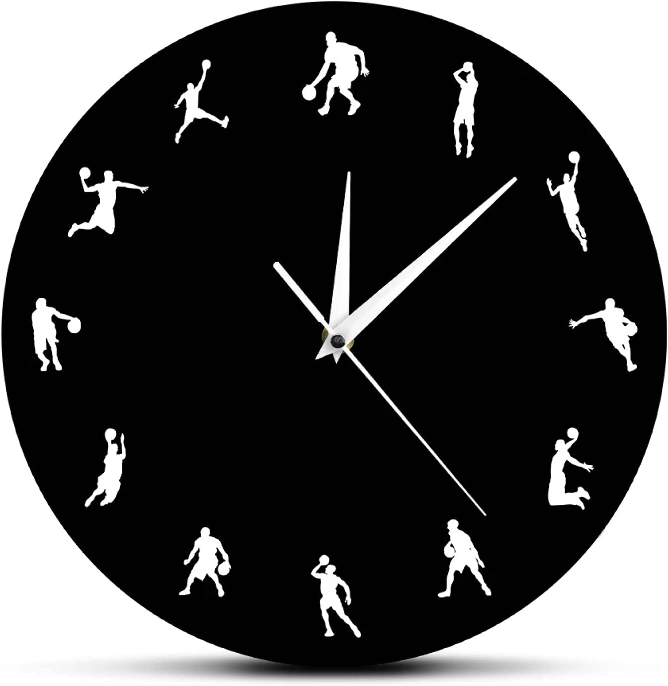 Wall Clock Basketball Sport Game Max 69% OFF shop M Players