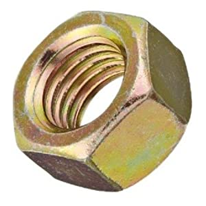 1-8 Thread Size 63//64 Thick Steel Heavy Hex Nut Small Parts Pack of 5 Plain Finish 1-8 Thread Size 1-5//8 Width Across Flats 63//64 Thick Pack of 5 ASME B18.2.2 and ASTM A325 Grade DH 1-5//8 Width Across Flats
