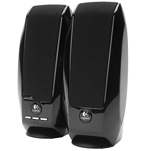 Black Logitech S150 USB Speakers with Digital Sound, New,