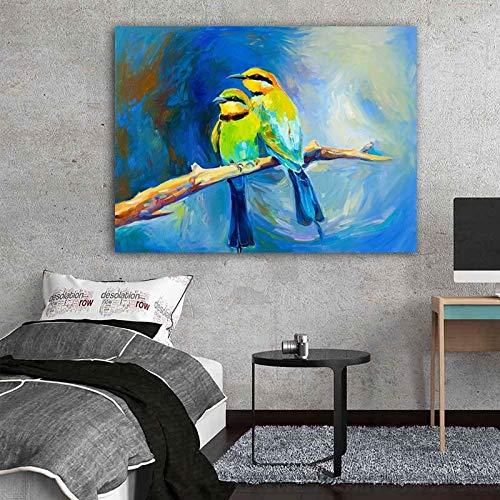 Puzzle 1000 teile Tiermuster Vogelmalerei Art Deco Malerei puzzle 1000 teile landschaft Pädagogisches intellektuelles Stressabbau-Spielzeug-Puzzle Great Holiday Leisure , Int50x75cm(20x30inch)