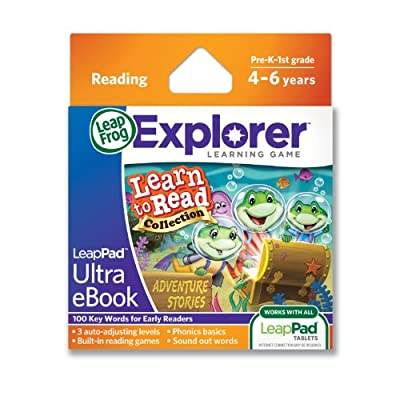LeapFrog LeapPad Ultra eBook Learn to Read Collection: Adventure Stories (works with all LeapPad tablets) from Leapfrog