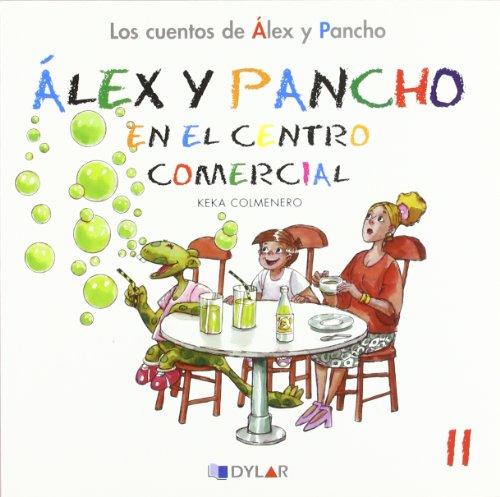 Álex y Pancho en el centro comercial