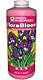 General Hydroponics Florabloom 0-5-4, Use With Floramicro &Amp; Floragro For A Tailor-Made Nutrient Mix, Provides Nutrients For Reproductive Growth, Ideal For Hydroponics, 1-Quart