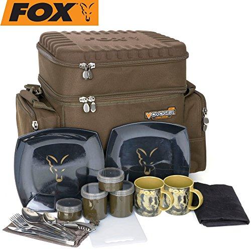 Fox Voyager 2 man cooler 46x55x32cm - Essenstasche, Kühltasche, Angeltasche für Lebensmittel
