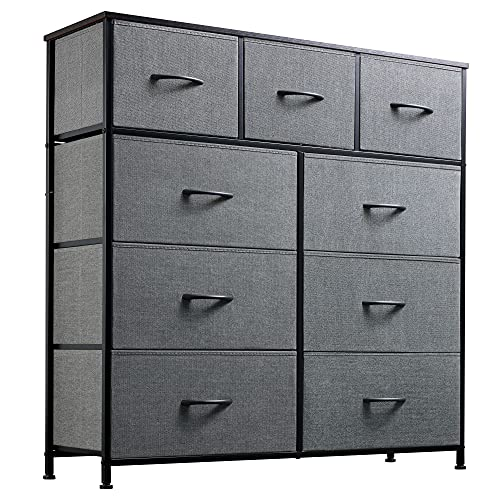 WLIVE 9-Drawer Dresser, Fabric Storage...