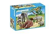 Playmobil Vida Salvaje - Sabana Africana con Animales Playsets de Figuras de jugete, Color Multicolor (Playmobil 5417)