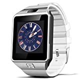 Padgene Singe Bluetooth Smart Watch Phone Mate For Samsung S5 S6 Note 4 HTC Sony Nokia Huawei LG All Android Smartphones-White