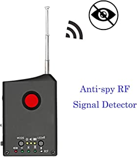 Cainda Wireless Detector Anti Spy Camera, Lens Detector Laser RF Signal Bug Detector, Hidden Cam GSM Device Finder Micro Anti Spy Equipment