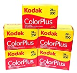 KODAK Colorplus 200 ASA, 24 Belichtungen, 5 Rollen