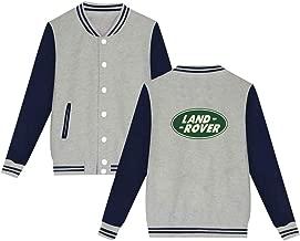 Mens Varsity Jackets La-nd Rov-er Logo Letterman Jacket Baseball College Sportswear Sweatshirt