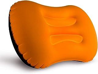 Camping Pillow, LERMX Inflating Travel Pillow, Compressible/Compact/Ergonomic Pillow for Neck & Lumbar Support and a Good ...