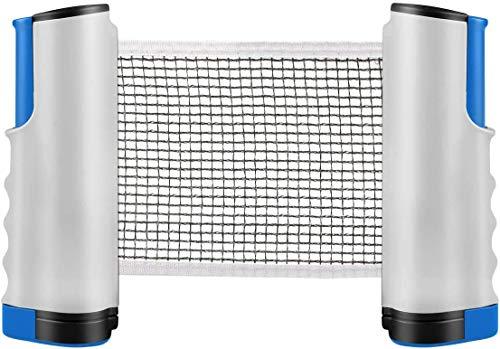 LAAT Tischtennisnetz Netze Tischtennisnetz für Esstisch Tischtennisnetz Ausziehbar Tischtennisnetz für Jeden Tisch Tischtennisnetz Kettler Tischtennisnetz Set Tischtennisnetz Outdoor 187 * 15CM