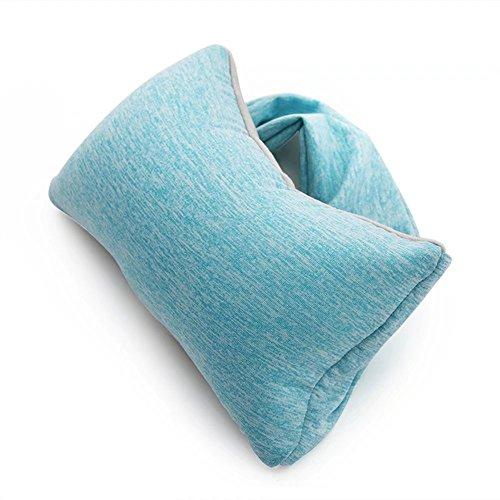 Pillow-MAIKA HOME Kopfkissen/Kissen, Reisekissen, Nackenschutzkissen, weich und bequem (Farbe: D)