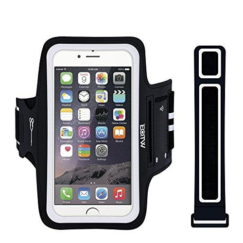 EOTW Sportarmband Handyhülle Kompatibel mit iPhone 8/7/6/5/SE, Samsung Galaxy S7/S6/S5, Ideal für Sport Laufen 4,0-5,1 Zoll Handy