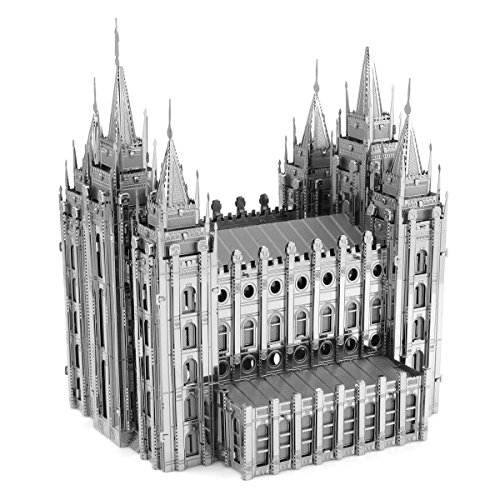 Fascinations Metal Earth ICONX Salt Lake City Temple 3D Metal Model Kit