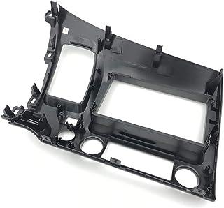 Garneck Kit de painel estéreo para carro, kit de instalação DIN duplo, DVD Player estéreo, moldura de painel de substituiç...