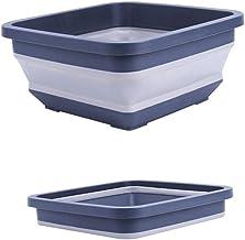 LJBH Folding Cylinder, Bucket, Plastic Household Car Wash Portable Folding Bucket, Water Storage Wagon Fishing Outdoor, Hi...