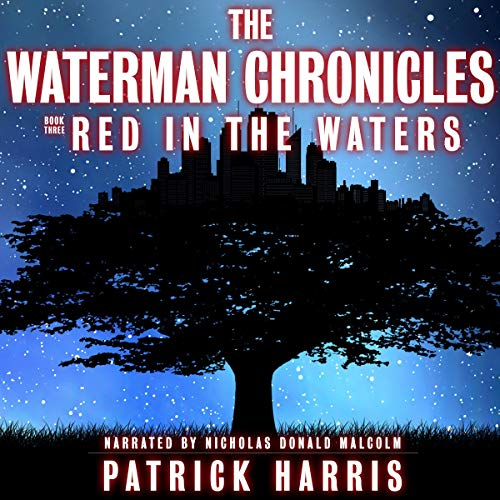 Red in the Waters audiobook cover art