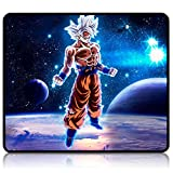 Dragon Ball Z Mouse Pad Anime Gaming Mouse Pad 9.8X11.8X0.12 Inch Stitched Edges Waterproof Mousepad Pixel-Perfect Mouse Mat