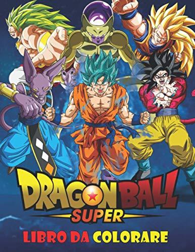 Dragon Ball Super Libro da colorare: 50 pagine da colorare per bambini, ragazzi e adulti | Dragon Ball Super, Dragon Ball GT, Dragon Ball Z, Libro da ... Un regalo divertente per bambini e adulti