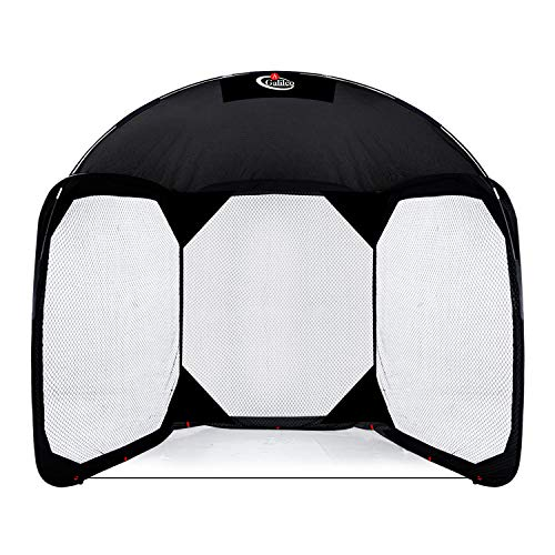 Gagalileo Screen Baseball Protective Screen Baseball Batting Cage Screen Backstop Net Baseball Practice Net with Carry Bag Baseball Practice Screens 11.5'(L) X6'(W) X9.6'(H) White Net