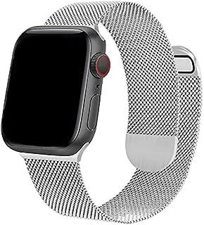Compatibel met Apple Watch Bands 38mm 40mm 42mm 44mm ONELANKS Magnetische Horloge Bands met Dubbelzijdige magnetische Mesh...